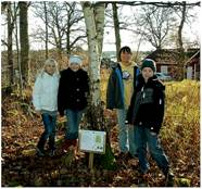 Barn i skolskogen2